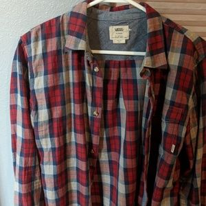Vans flannel shirt
